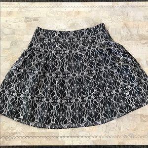 Mossimo satin feel skirt gorgeous print size 16